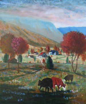 Farm Scene, Sequatchie Valley