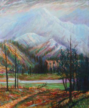 Rocky Mountain Scene
